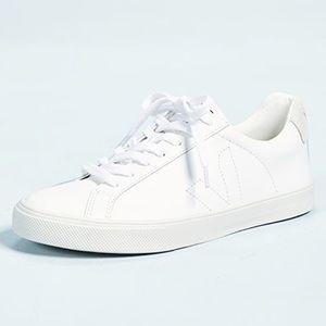Women's white Veja sneakers size 6